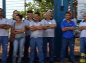 Funcionários fazem protesto na CPP de Palmas e cobram segurança e treinamento - Funcionários fazem protesto na CPP de Palmas e cobram segurança e treinamento