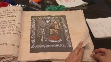 Bordadeiras fazem trabalhos inspiradas em obras raras - Elas se inspiram em acervo