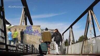 Em Movimento: Grafiteiros capixabas viajam pra Europa no 'EMME Gira' - Em Guarapari, Starley e Liam contam como percorreram três países escandinavos graças a um financiamento coletivo.