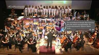 Em Movimento: Tim Rescala e as trilhas de novela em concerto - Os melhores momentos do concerto apresentado com a Orquestra Sinfônica da Faculdade de Música do Espírito Santo.