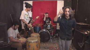 Banda Drop Side mescla sons de rock e raggae - A banda existe há dois anos e faz sucesso na região.