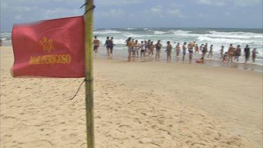 Maior parte das praias de Fortaleza está adequada para banho - Maior parte das praias de Fortaleza está adequada para banho