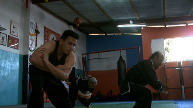 Terceira reportagem da série Lutas traz a arte do Kung Fu - Repórter Douglas França mostra um pouco dessa luta