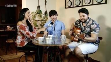 Dupla Pedro e Benício participa de quiz sertanejo no Se Liga VM - Confira se os cantores cearenses se dão bem na brincadeira de Niara Meireles.