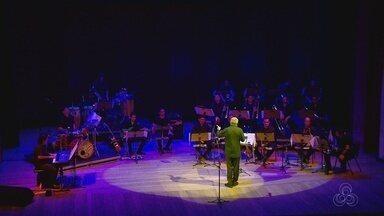 Orquestra Amazonas Jazz Band faz homenagem a compositor norte americano - Apresentação ocorreu no palco do Teatro Amazonas