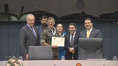 General Theophilo Gaspar de Oliveira recebe homenagem em Manaus - Solenidade ocorreu na Câmara Municipal de Manaus