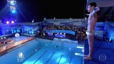Confira o salto de Raphael Sander - Confira a participação na quarta rodada de Saltibum