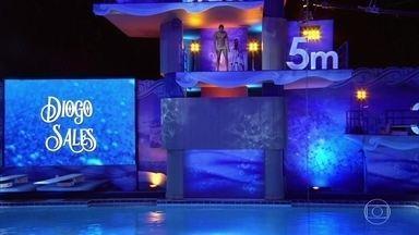 Confira o salto de Diogo Sales - Ator participa da quarta rodada de Saltibum