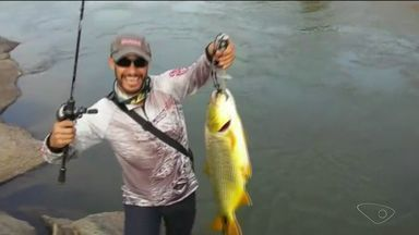 Pesca esportiva atrai adeptos em Cachoeiro de Itapemirim - A pesca é uma forma que encontraram para descansar e ter lazer.