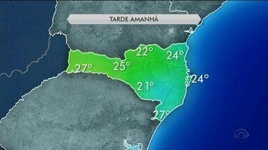 Domingo (23) será de nebulosidade e temperaturas amenas em Santa Catarina - Domingo (23) será de nebulosidade e temperaturas amenas em Santa Catarina