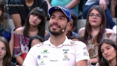 Daniel Dias conta como era a época de escola - Ele revela que sempre teve o sonho de ser atleta