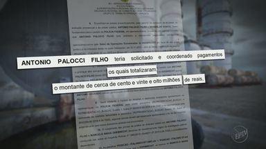 Antonio Palocci é indiciado por corrupção nas investigações da Operação Lava Jato - Ex-prefeito de Ribeirão segue preso na sede da Polícia Federal em Curitiba (SP).