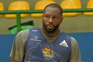 Tyrone é uma das principais apostas do Mogi Basquete para a final do Paulista - Americano foi um destaques da equipe mogiana durante a competição.