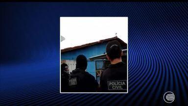 Cinco pessoas são presas durante operação realizada pela Polícia Civil - Cinco pessoas são presas durante operação realizada pela Polícia Civil