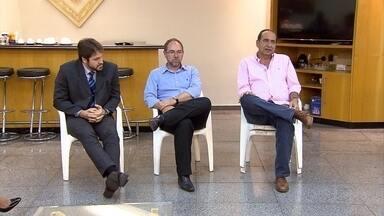 Alexandre Kalil (PHS) diz que vai desburocratizar trabalho da Guarda Municipal - Candidato se reuniu com delegados da Polícia Federal.