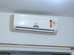 Procura por instalação de ar-condicionado cresce em Presidente Prudente - Tempo quente favorece a procura pelos equipamentos.