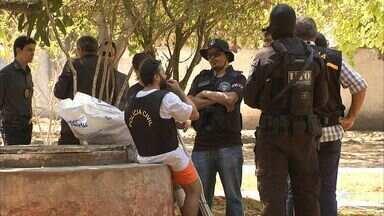 Acusado de matar menina Rakelly participa de reconstituição do crime - Crime ocorreu em Itaitinga, em Fortaleza.