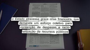 Crise financeira: diário oficial do estado publica pedido de ajuda para a Polícia Civil - Delegacias enfrentam dificuldades há vários meses