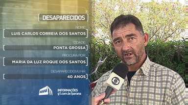 Moradores da região procuram por parentes desaparecidos - Veja dos depoimentos de hoje do quadro Desaparecidos