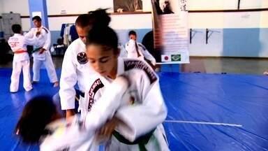 Conheça duas judocas de Brasília que estão entre as principais lutadoras do país - Jovens sonham alto no esporte.
