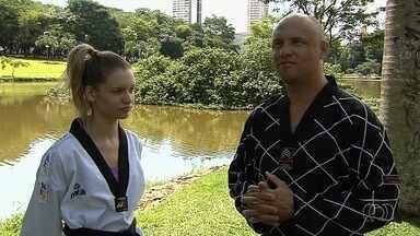 Atletas goianos estão na seleção brasileira júnior de taekwondo - Dangela Guimarães e Bruno Magalhães estarão na disputa no Canadá a partir do dia 16 de novembro.