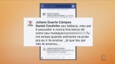 Prefeito de Governador Celso Ramos volta a criar polêmica nas redes sociais - Prefeito de Governador Celso Ramos volta a criar polêmica nas redes sociais