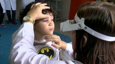 Médicos fazem mutirão contra bactéria tracoma em escola na Serra, ES - Campanha é anual e vai abranger cinco escolas do Planalto Serrano.