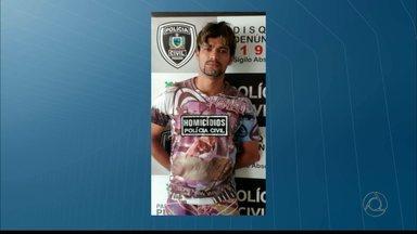 Preso acusado de matar namorado da ex-mulher em João Pessoa - O acusado foi preso no Colinas do Sul e levado para a Central de Polícia.