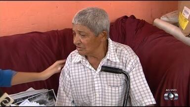 Idoso enfrenta dificuldades à espera de cirurgia em Goiânia - Quadro dele é grave e família faz apelo por vaga.