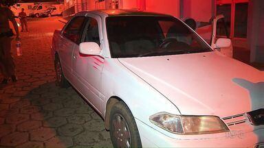 Táxi roubado no Paraguai é recuperado no bairro Portal da Foz - O veículo foi roubado no sábado durante uma corrida até o bairro.