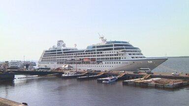 Temporada de cruzeiro tem início no Amazonas - Até junho, 20 navios irão visitar a cidade e o interior.