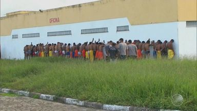 Justiça proíbe entrada de novos detentos no presídio de Feira de Santana - Decisão foi tomada por conta da superlotação do espaço.