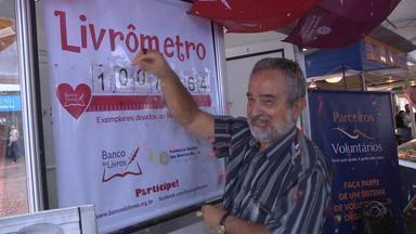 Feira do Livro de Porto Alegre comemora 1 milhão de livros doados - Na sexta-feira 11/11 foi registrado o recorde.