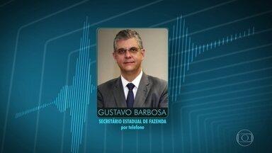 Secretário de Fazenda do RJ fala sobre parcelamento do salário dos servidores do estado - O secretário Gustavo Barbosa fala sobre as finanças do estado do Rio de Janeiro e explica o novo calendário.