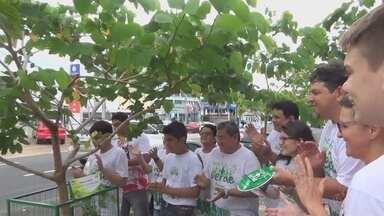 'Manaus mais verde' comemora após plantio de árvores - Primeiro ano de plantio foi celebrado na capital.