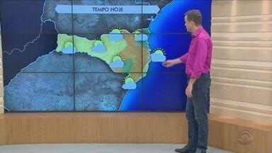 Confira a previsão do tempo para SC - Confira a previsão do tempo para SC