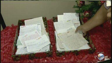 Moradores de Rio Claro já podem retirar 'Cartinhas para o Papai Noel' nos Correios - No ano passado, 360 pedidos foram adotados na cidade.
