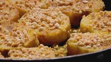Fernando Kassab ensina receita de batata doce com amendoim - Prato desta segunda-feira (14) também leva curry.