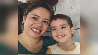 Família fala sobre morte de criança após meningite, em Manaus - Mãe fala de atraso no diagnóstico.