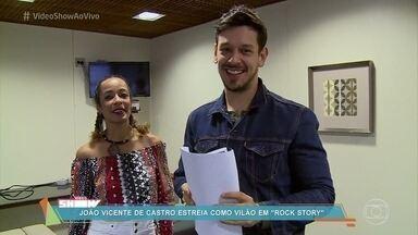 João Vicente Castro estreia como vilão na novela 'Rock Story' - Ator interpreta o empresário duas caras de Gui Santiago e Léo Régis na novela das sete