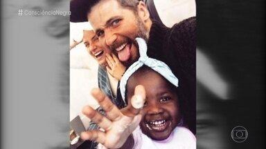 Fátima comenta ataques racistas contra filha de Bruno Gagliasso e Giovanna Ewbank - Giovanna fez um post com uma foto da filha Titi em uma rede social e recebeu comentários racistas