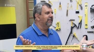 Engenheiro fala dos riscos de incêndio por causa de instalações elétricas - Edson Martinho mostra que a sobrecarga elétrica é um dos maiores riscos para incêndios em casas e apartamentos