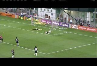 Esporte: Atlético mineiro empata com lider Palmeiras em partida pelo Brasileirão - Galo é o quarto colocado.