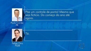 MP-MS abre inquérito para apurar possível fraude no ponto de servidores da Assembleia - O Ministério Público de Mato Grosso do Sul (MP-MS) abriu inquérito para investigar uma possível fraude no controle de ponto dos servidores da Assembleia Legislativa. A investigação é resultado da polêmica de ligações gravadas, em 2015, entre os deputados Paulo Corrêa (PR) e Felipe Orro (PSDB), onde os dois falam sobre o controle de ponto dos funcionários da Casa.