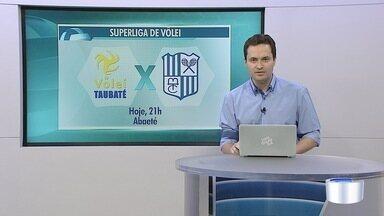 Neste sábado tem rodada da Superliga de Vôlei - Taubaté joga em casa contra o Minas Gerais.