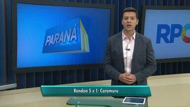 Marechal Rondon goleia e se classifica para as semifinais da Série Ouro do paranaense - Vitória por 5 a 1, contra Caramuru, de Castro, confirmou a classificação.