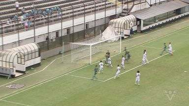 Santos e Palmeiras disputam título do Campeonato Paulista Sub-13 - Palmeiras ganhou de 3 a 0.