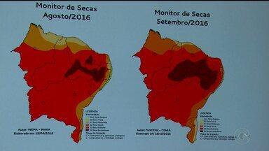 A seca ficou mais grave nos últimos dois meses nas regiões do agreste e do sertão de PE - A informação é do o novo mapa da Agência Pernambucana de Águas e Climas, Apac.