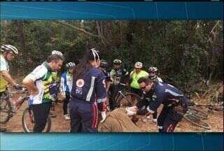 Ciclistas encontram homem perdido na Chapada do Araripe, no Ceará - Homem está em hospital da cidade do Crato.