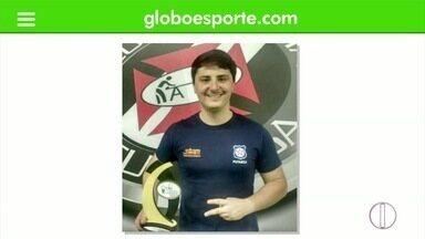 Marcus Vinicius faz história no futmesa friburguense - Marcus Vinícius ficou em segundo no Campeonato Mundial de Clubes de Futmesa e também foi vice no RJ Open International.